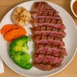 EL TORO Steakhouse and Churrascaria Striploin sliced