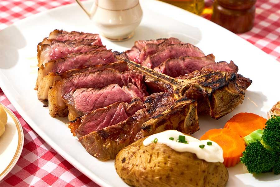 EL TORO Steakhouse - Dry aged menu