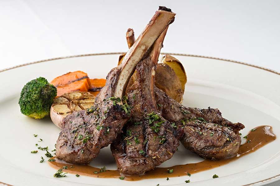 EL TORO Steakhouse - Lamb chops menu